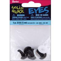 Shank Back Solid Eyes 15mm 4/Pkg NOTM219227