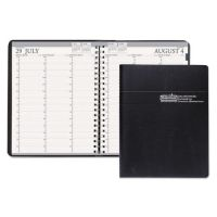 House of Doolittle Recycled Professional Academic Weekly Planner, 8-1/2 x 11, Black, 2017-2018 HOD257202