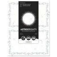 Astrobrights Foil Enhanced Certificates, 8.5x11, Stardust White/Silver Foil, 2/Sheet,15Sh/Pk WAU91110