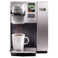 Keurig OfficePRO K155 Premier Brewing System, Single-Cup, Silver GMT20155