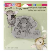 """Stampendous House Mouse Cling Rubber Stamp 3.5""""X4"""" Sheet NOTM079684"""