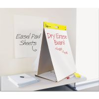 Post-it Easel Pads Dry Erase Tabletop Easel Unruled Pad, 20 x 23, White, 20 Sheets MMM563DE