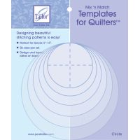Mix'n Match Templates For Quilters 6/Pkg NOTM082846