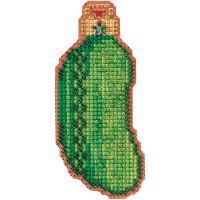 Christmas Pickle Counted Cross Stitch Kit NOTM052689