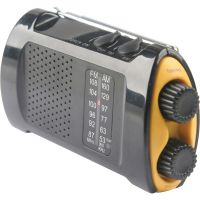 First Aid Only Portable AM/FMTV Crank Radio FAO90423