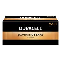 Duracell CopperTop Alkaline Batteries, AA, 144/CT DURMN1500BKD