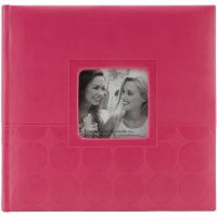 "Embossed 2-Up Photo Album 4""X6"" 200 Pockets NOTM396157"