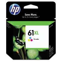 HP 61XL, (CH564WN) High Yield Tri-color Original Ink Cartridge HEWCH564WN
