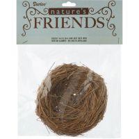 """Bird Nest W/Wire 4"""" NOTM212590"""