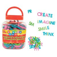 Pacon Wonderfoam Consonant Blends Magnetic Letters PACAC9305
