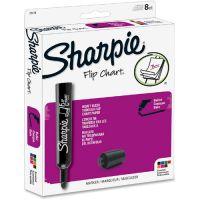 Sharpie Flip Chart Markers, Bullet Tip, Eight Colors, 8/Set SAN22478
