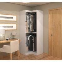 Bestar Pur by Bestar Corner storage unit in White BESBES2616517