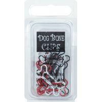 """Painted Metal Dog Bone Paper Clips 1.125""""X.5"""" 15/Pkg NOTM310196"""