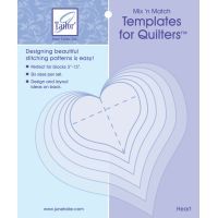Mix'n Match Templates For Quilters 6/Pkg NOTM082847