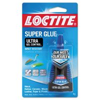 Loctite Ultra Gel Super Glue, .14 oz LOC1363589