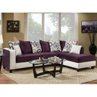 Flash Furniture Riverstone Implosion Purple Velvet Sectional FHFRS412405SECGG