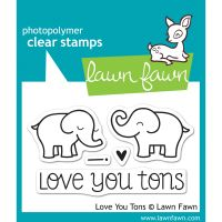 """Lawn Fawn Clear Stamps 3""""X2"""" NOTM319126"""