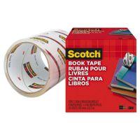 """Scotch Book Repair Tape, 4"""" x 15yds, 3"""" Core, Clear MMM8454"""