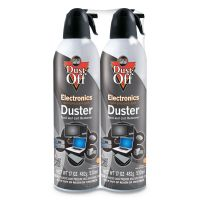 Dust-Off Disposable Compressed Air Duster, 17 oz Cans, 2/Pack FALDPSJMB2