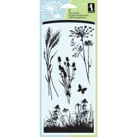 "Inkadinkado Clear Stamps 4""X8"" Sheet NOTM470186"
