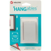 "Velcro(R) Brand HANGables Removable Wall Fasteners 3""X1.75"" NOTM320433"