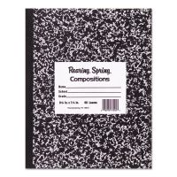 Roaring Spring Marble Cover Composition Book, Wide Rule, 8 1/2 x 7, 48 Pages ROA77333