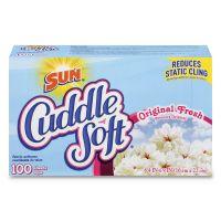 Diversey Cuddle Soft Fabric Softener Sheets, Fresh, 100/Box, 6 Boxes/Carton DVOCB731029