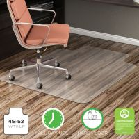 Deflecto EconoMat® Non-Studded Anytime Use Chairmat for Hard Floors DEFCM2E232COM