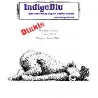 """IndigoBlu Cling Mounted Stamp 4""""X4"""" NOTM353107"""