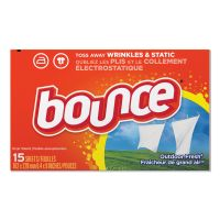 Bounce Fabric Softener Sheets, Outdoor Fresh, 15/Box, 15 Box/Carton PGC95860CT