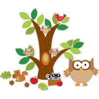 Owl Bulletin Board Set CDP110137