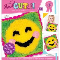 Emoji Sew Cute! Latch Hook Kit NOTM200548