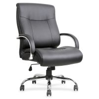 Lorell Leather Deluxe Big & Tall Office Chair LLR40206