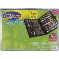 Darice Artyfacts Portable Studio Deluxe Art Set NOTM445060