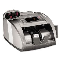 SteelMaster 4820 Bill Counter with Counterfeit Detection, 1200 Bills/Min, Charcoal Gray MMF2004820C8