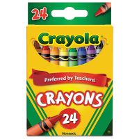 Crayola Classic Color Crayons, Peggable Retail Pack, 24 Colors CYO523024