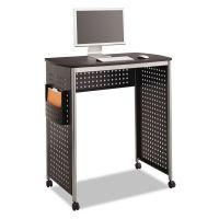 Safco Scoot Stand-Up Workstation, 39 1/2w x 23 1/4d x 42h, Black SAF1908BL