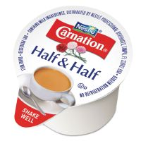Carnation Half & Half, 0.304 oz Cups, 180/Carton NES21501