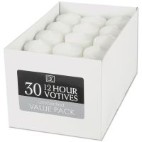 Darice Unscented 12 Hour Votive Candles NOTM159110