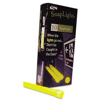 "Miller's Creek Snaplights, 6""l x 3/4""w, Yellow, 10/Pack MLE151849"
