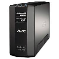 APC BR700G Back-UPS Pro 700 Battery Backup System, 6 Outlets, 700 VA, 355 J APWBR700G