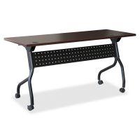 Lorell Mahogany Flip Top Training Table LLR59518