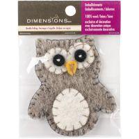Felt Appliqued Owl NOTM054489