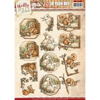 Find It Trading Yvonne Creations Punchout Sheet NOTM455652