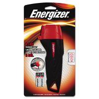 Energizer Rubber Flashlight, 2 AA, Large EVEENRUB21E