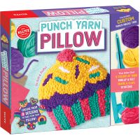 Punch Yarn Pillow NOTM022581