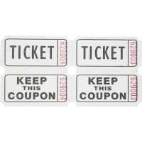 Sparco Admit One Double Roll Tickets SPR99210