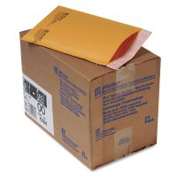 Sealed Air Jiffylite Self Seal Mailer, #00, 5 x 10, Golden Brown, 25/Carton SEL10184