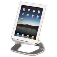 Fellowes Tablet Riser, 8 3/8 x 5 3/8 x 4 5/8, White/Gray FEL9311301