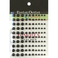 Bling Self-Adhesive Pearls Multi-Size 100/Pkg NOTM413097